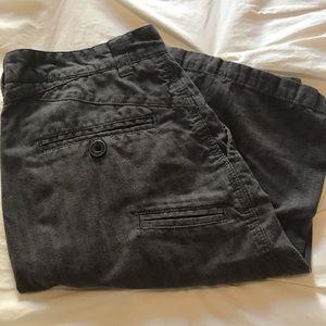 Boys Dark Grey Micros Brand Shorts